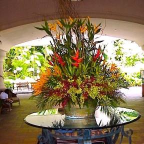 Large Tropical Arrangement