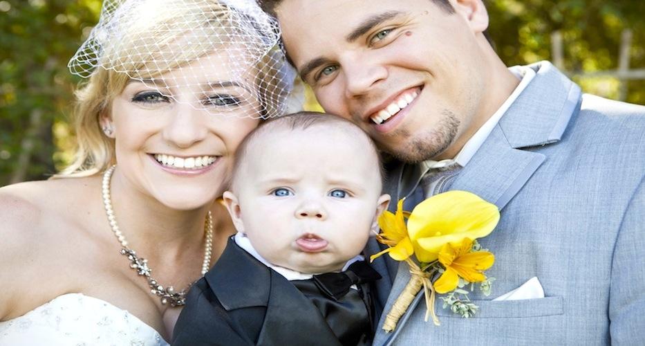 David, Kelsey & Baby